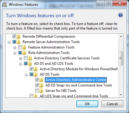 Make sure to check Active Directory Administrative Center