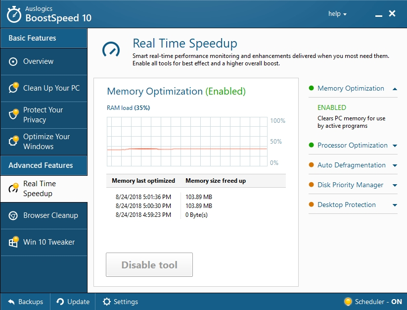 Speed up your PC with Auslogics BoostSpeed.