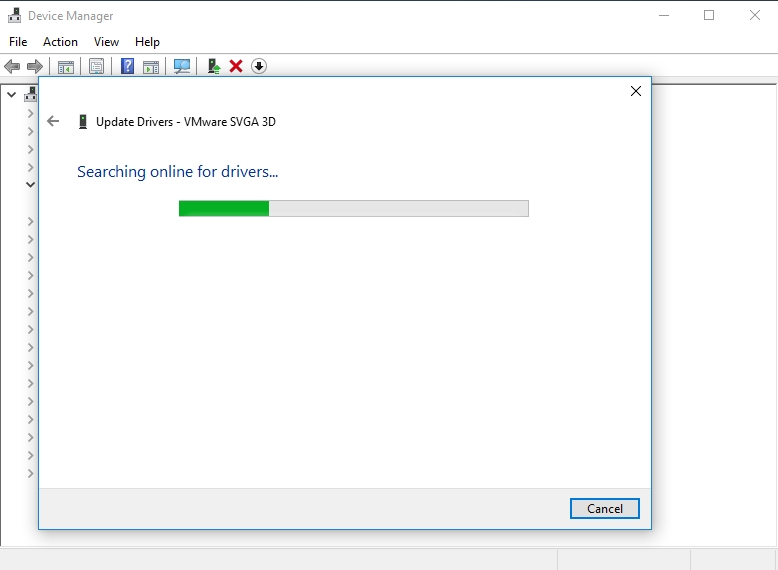 Update your drivers with Device Manager.