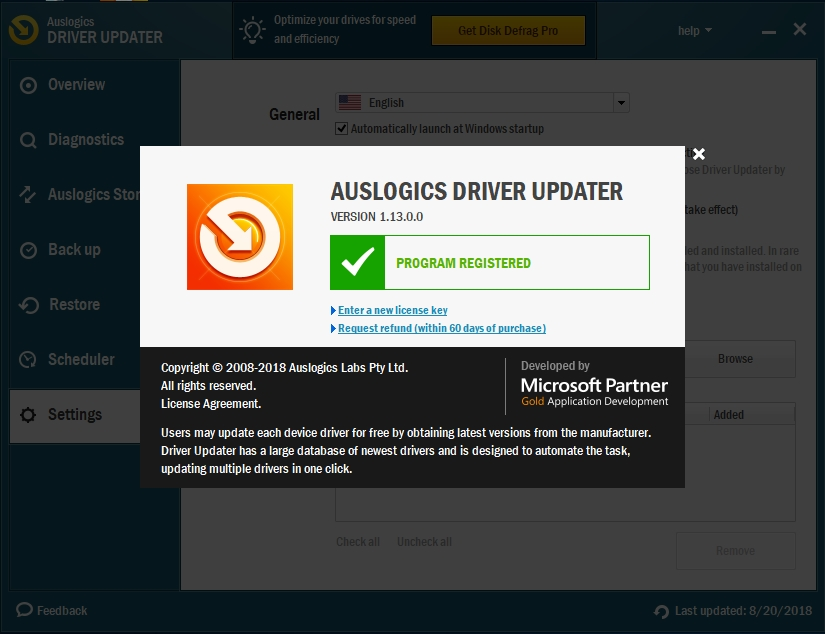 Updating your drivers automatically might be your best bet.