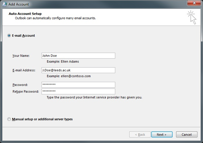 Create a new profile in Outlook.
