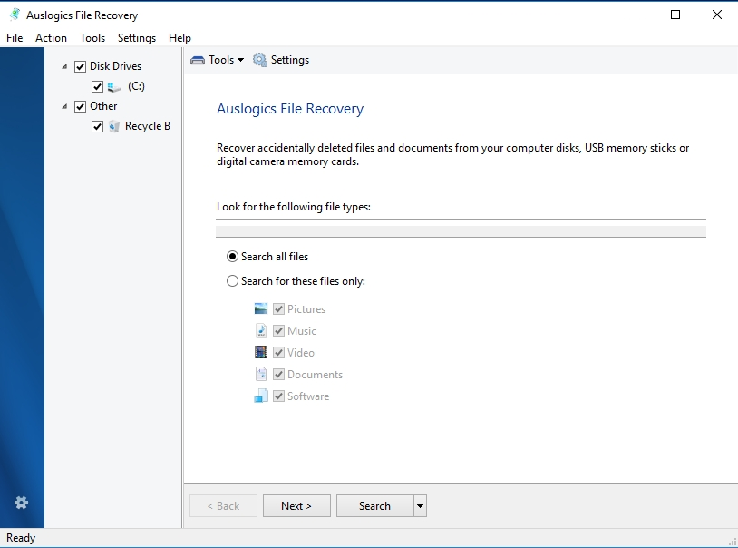 You can easily get your files back with Auslogics File Recovery.