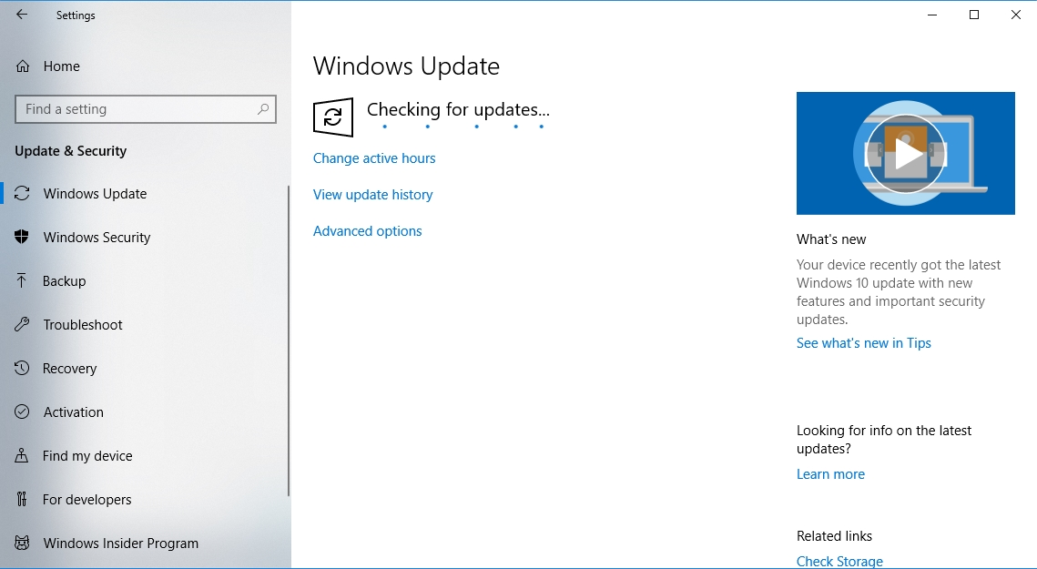 "Update your Windows 10 to fix the ""The Device Is Not Ready"" error."