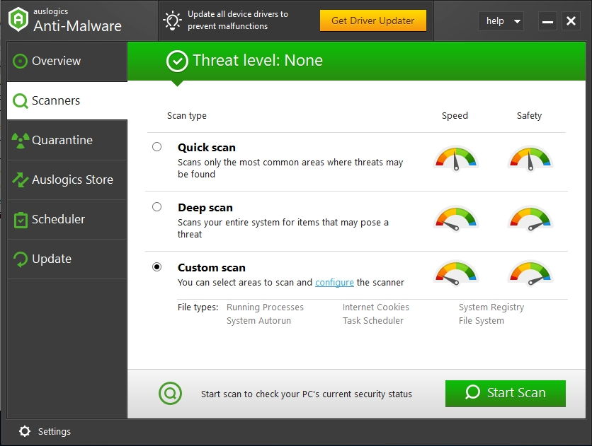Scan your system and remove malicious items.