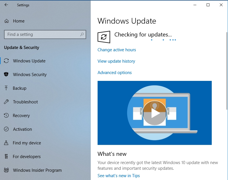 Your Windows 10 will be updated.