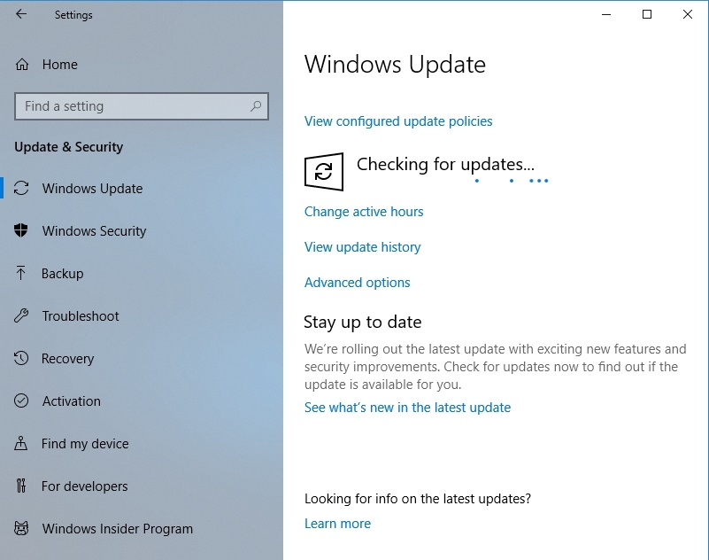 Updating your OS can fix the issues with your game